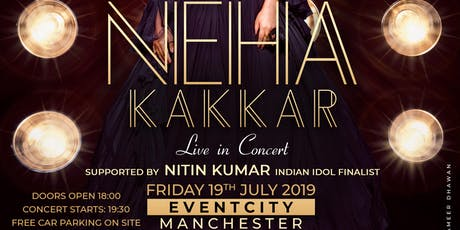Ria Money Transfer pres. with Explosive Group 'NEHA KAKKAR' Live in Concert tickets
