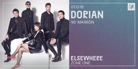 Dorian @ Elsewhere (Zone One) tickets