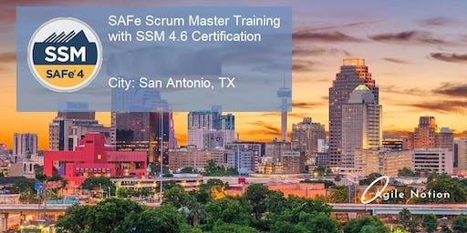 SAFe 4.6 Scrum Master Certification Course [SSM] - San Antonio