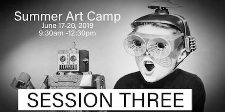 Summer Art Camp 3: June 17-20, 2019 tickets