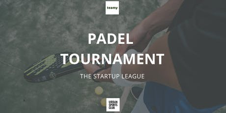 Teamy Startup League - Padel Tournament tickets