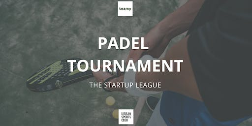 Teamy Startup League - Padel Tournament