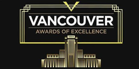 City of Vancouver's Awards of Excellence Ceremony tickets