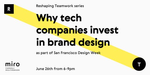 Why tech companies invest in brand design?