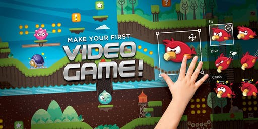 Summer Camp: Make Your First Video Game! Ages 8 to 13