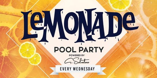 Lemonade Ibiza Pool Event