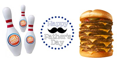 Father's Day Burgers and Bowling!