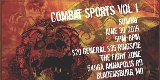 Combat Sports Vol 1 #prowrestling