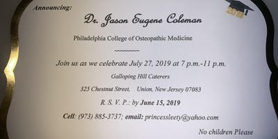 Dr. Jason Coleman's Doctoral Celebration