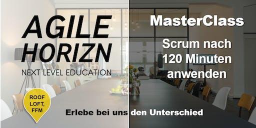 MasterClass: Scrum nach 120 Minuten anwenden