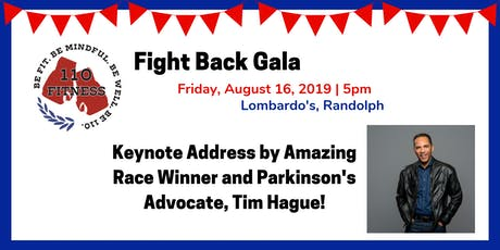 110 Fitness Fight Back Gala tickets