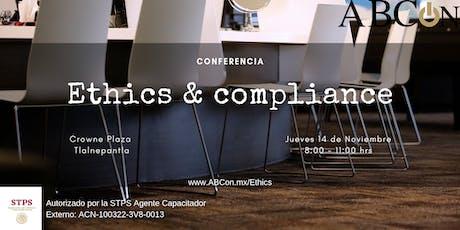 Conferencia: Ethics &  Compliance entradas