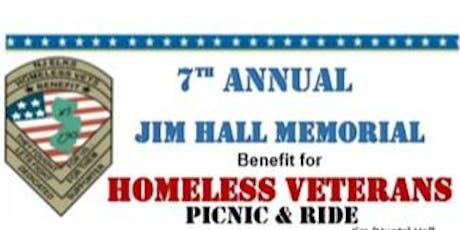 7th Annual Jim Hall Memorial Homeless Veterans Benefit tickets