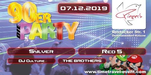 90er - die PARTY - 07.12.2019