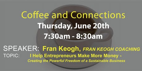 2019 June Coffee and Connections tickets