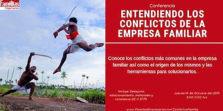Conferencia: Entendiendo los conflictos de la empresa familiar entradas