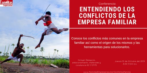 Conferencia: Entendiendo los conflictos de la empresa familiar