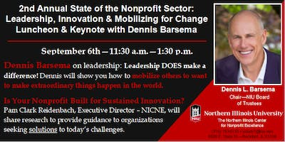 State of the Sector: Leadership, Innovation & Action with Dennis Barsema
