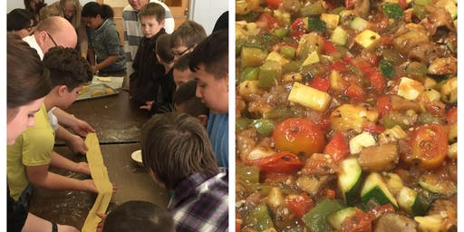 Summer Bounty Kids Cooking Class