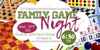 Family Game Night, Ecole St. John Paul II