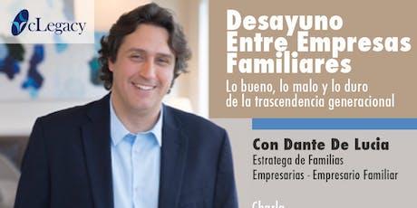DESAYUNO ENTRE EMPRESAS FAMILIARES tickets