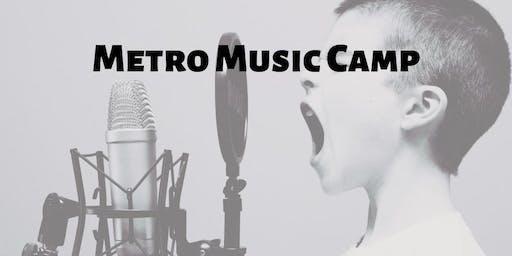 Metro Music Camp