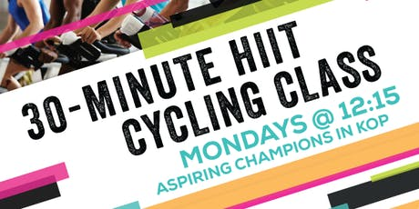 30-minute HIIT Cycling tickets