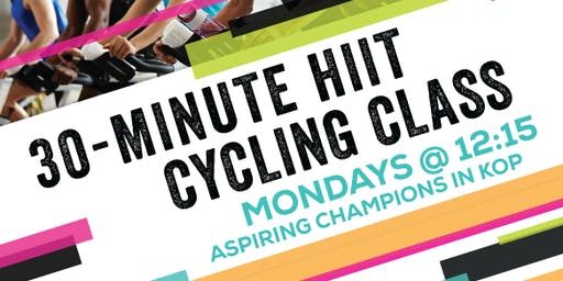 30-minute HIIT Cycling