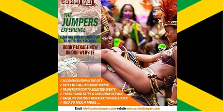 CARNIVAL JUMPERS JAMAICA CARNIVAL EXPERIENCE 2020 tickets