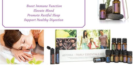 Beginners 101 Class: Learn about the 10 most common oils for wellness tickets