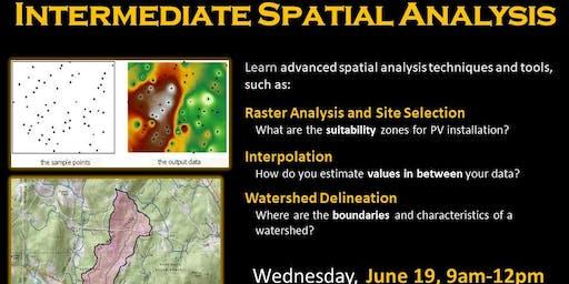 Intermediate Spatial Analysis