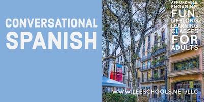 Conversational Spanish @Lee County Public Education Center 8/21-9/25