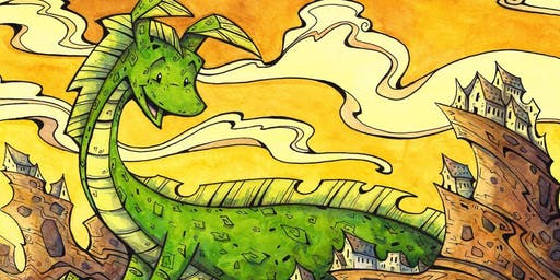Young Artist Program for Ages 9-12: How to Draw a Dragon