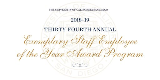 2018-19 Exemplary Staff Employee of the Year Ceremony