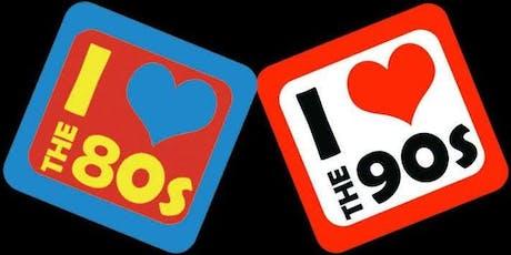 '80s vs '90s feat DJ INDICA JONES plus Wanz, #all4doras, Kuroneko tickets