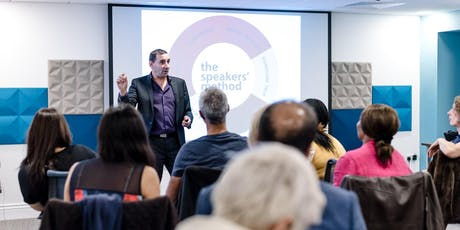 Public Speaking Club Night - 5 Ways to Monetise your Speaking tickets