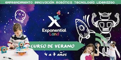 Tadpoles Exponential Summer CDMX  (Curso de Verano)