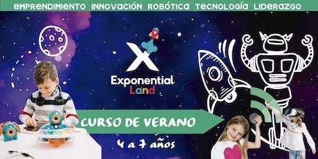 Tadpoles Exponential Summer CDMX  (Curso de Verano) entradas