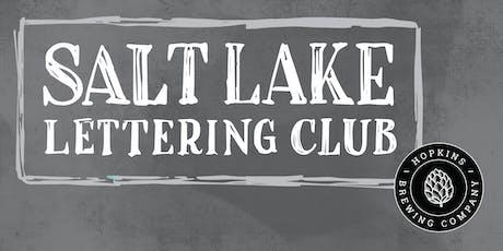 Salt Lake Lettering Club Meetup @ Hopkins Brewing tickets