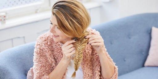 Langhaarmädchen-Haarstyling-Workshop