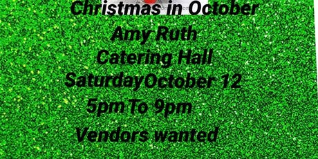 Christmas in October tickets