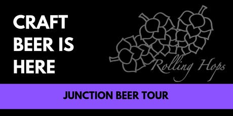 Historical Craft Beer Tour - The Junction  tickets