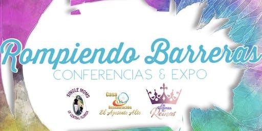 ROMPIENDO BARRERAS CONFERENCIA/EXPO DE MUJERES 2019