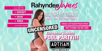Uncensored Pool Party for Rahyndee James Birthday