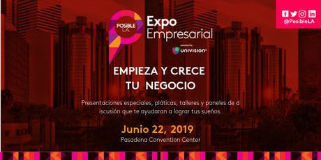 Posible L.A Expo Empresarial 2019 billets