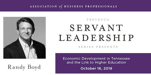 Economic Development in Tennessee and the Link to Higher Education: Trevecca Association of Business Professionals Luncheon