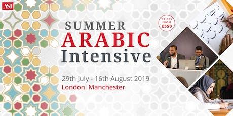 Arabic Intensive: London tickets