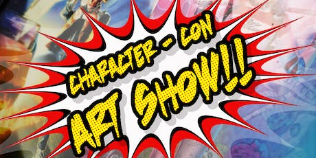 """First Friday at the Factory """"Character Con"""" tickets"""