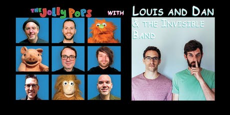 The Jolly Pops with Louis and Dan & the Invisible Band tickets