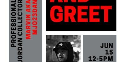 Meet & Greet: Professional Jordan Collector